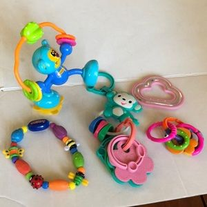Adorable baby toys good conditions